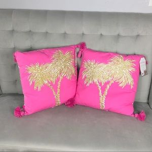NWT Lilly Pulitzer Decorative Pillow
